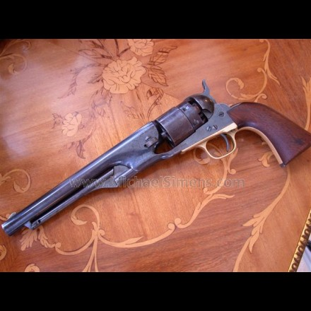 COLT 1860 ARMY REVOLVER, MARTIALLY MARKED