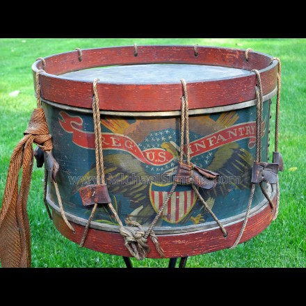 CIVIL WAR EAGLE DRUM