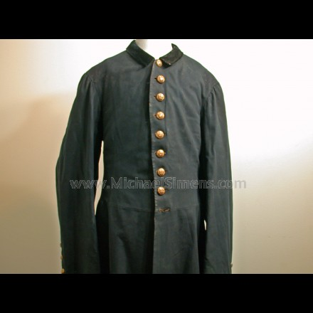 CIVIL WAR FROCK COAT, ARTILLERY