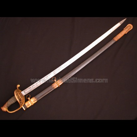 AMES CIVIL WAR OFFICERS SWORD