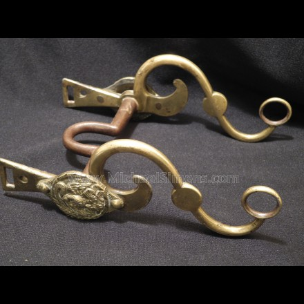 CIVIL WAR OFFICERS BRIDLE BIT