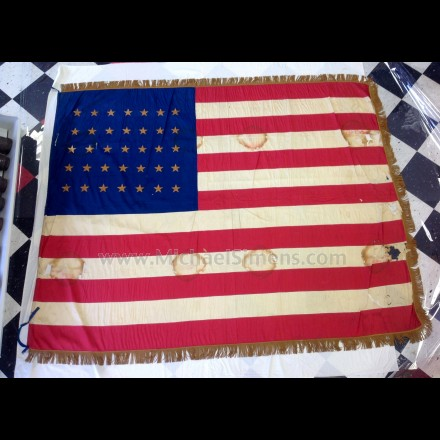 CIVIL WAR REGIMENTAL FLAG FOR SALE - REGIMENTAL COLORS