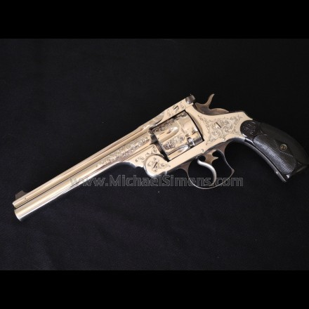 SMITH & WESSON 44 DOUBLE ACTION FIRST MODEL REVOLVER