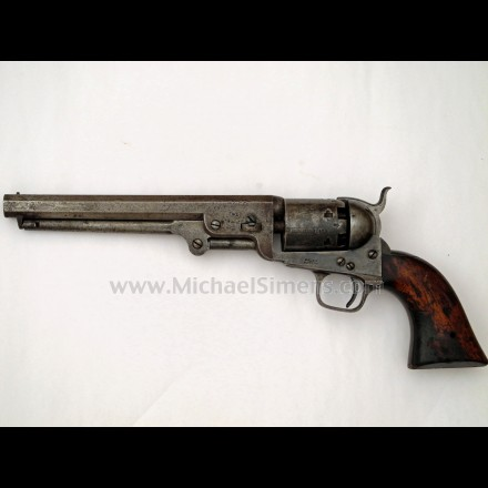 COLT LONDON NAVY WITH W/D BROAD-ARROW MARK