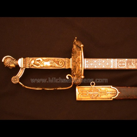 WAR OF 1812 CONGRESSIONAL PRESENTATION SWORD - NAVAL