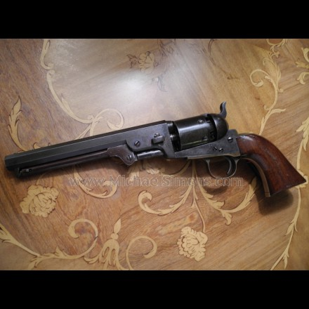 AUGUSTA MACHINE WORKS CONFEDERATE REVOLVER