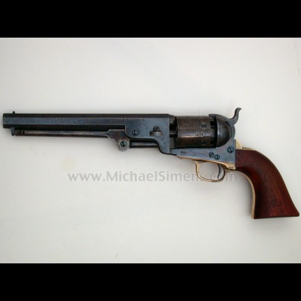 MARTIALLY MARKED COLT 1851 NAVY REVOLVER - Antique Colt Appraiser