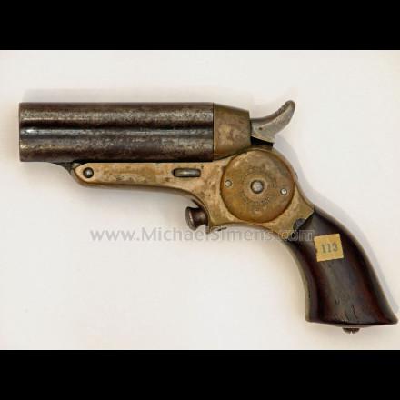Starr four barrel pepperbox pistol, fifth model