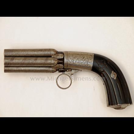 MARIETTE  5-SHOT PEPPERBOX REVOLVER