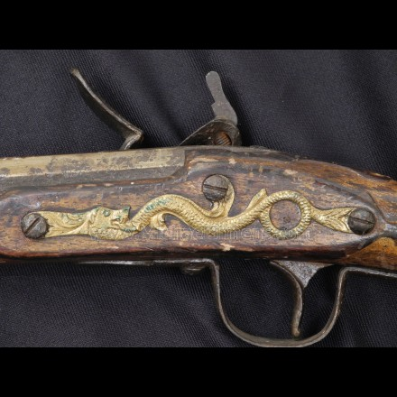 INDIAN TRADE GUN, HUDSON BAY - ANTIQUE RIFLES