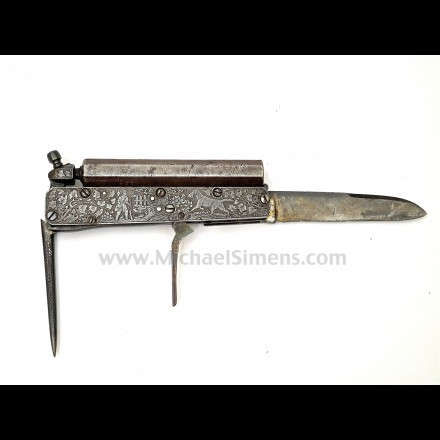 EUROPEAN PERCUSSION KNIFE PISTOL