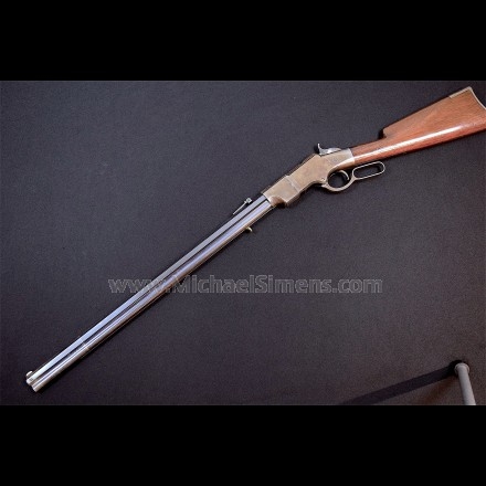 IRON FRAME HENRY RIFLE, ONE OF THE BEST KNOWN TO EXIST!