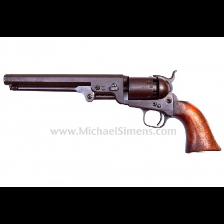 UNTOUCHED COLT LONDON NAVY REVOLVER, ATTIC-MINT !