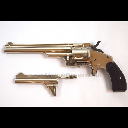 EXCELLENT MERWIN & HUBERT REVOLVER WITH EXTRA BARREL