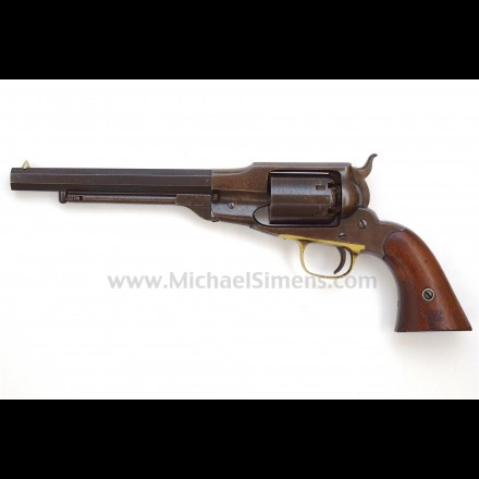 VERY FINE, REMINGTON BEALS, MARTIALLY MARKED NAVY REVOLVER.