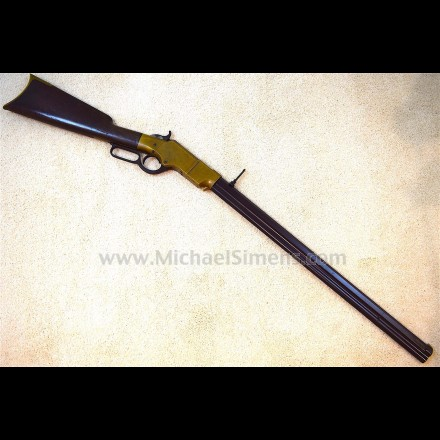 UNTOUCHED AND IDENTIFIED HENRY RIFLE