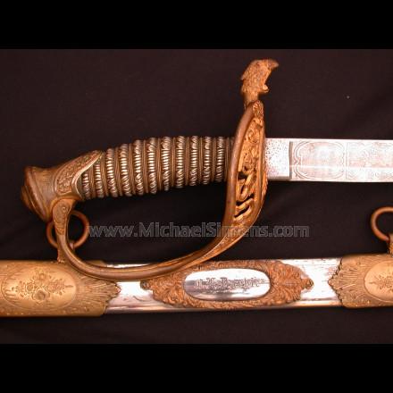 CONFEDERATE CIVIL WAR SWORD, THOMAS GRISWOLD & COMPANY