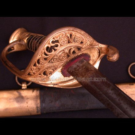 CONFEDERATE CIVIL WAR SWORD By JAMES CONNING.