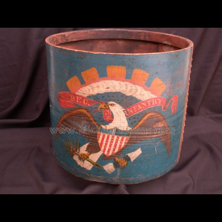 ORIGINAL CIVIL WAR DRUM, IDENTIFIED