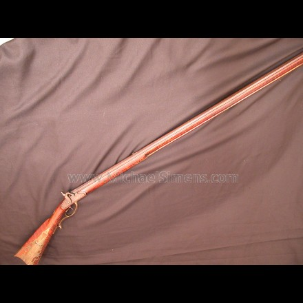 CAP & BALL KENTUCKY RIFLE BY SAMUEL MCKOSH