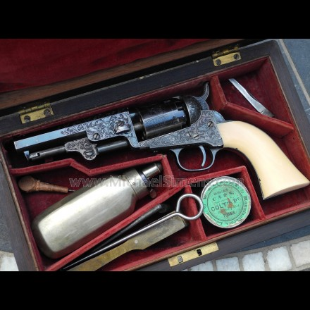 "PRESENTATION COLT REVOLVER OF BRIGHAM YOUNG, ""AMERICAN MOSES""."