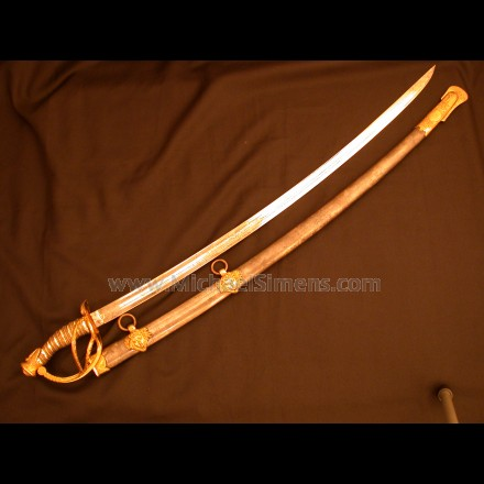 CIVIL WAR CAVALRY OFFICER'S SABRE BY SCHUYLER, HARTLEY AND GRAHAM