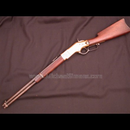 "MODEL 1866 WINCHESTER CARBINE, AKA ""YELLOW-BOY""."