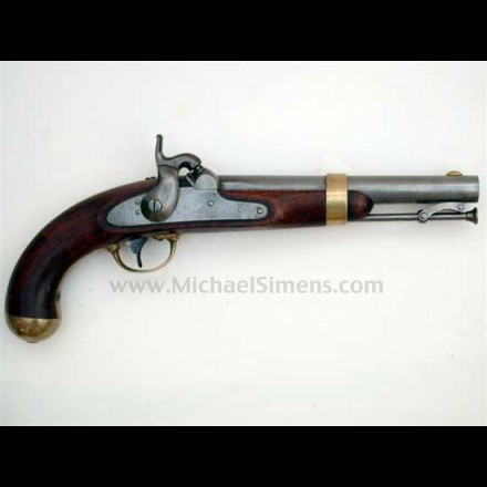 1842 ASTON SINGLE SHOT PERCUSSION PISTOL