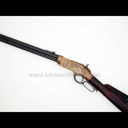 HENRY RIFLE, ENGRAVED