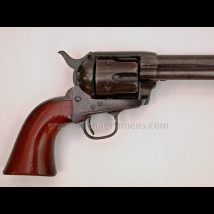 ETCHED PANEL COLT 44-40 SINGLE ACTION.