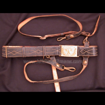 CIVIL WAR OFFICERS BELT FOR SALE
