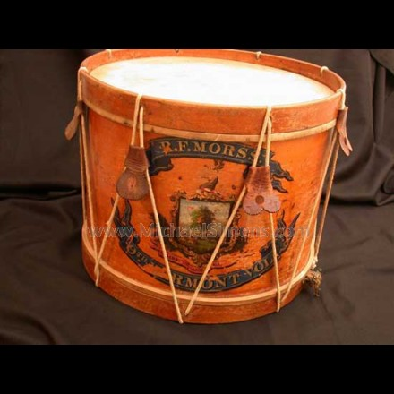 CIVIL WAR DRUM, VERMONT REGIMENT