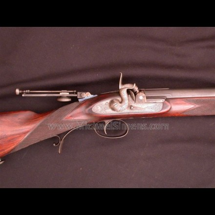 CIVIL WAR ERA WHITWORTH RIFLE.