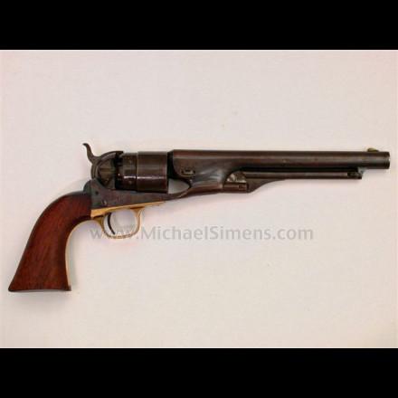 COLT 1860 ARMY REVOLVER, 4-SCREW FRAME