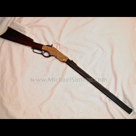 INSCRIBED HENRY RIFLE FOR SALE
