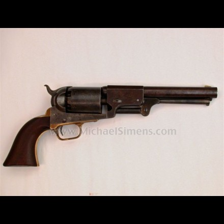 ANTIQUE COLT 3RD MODEL DRAGOON, MARTIALLY MARKED.