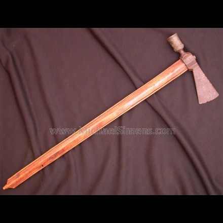 ANTIQUE PIPE TOMAHAWK FOR SALE - HISTORICAL ARMS