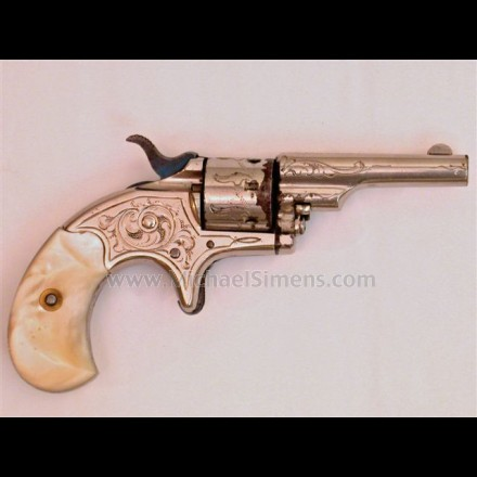 COLT OPEN-TOP POCKET REVOLVER.