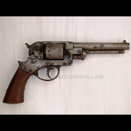 ANTIQUE STARR DOUBLE-ACTION ARMY REVOLVER