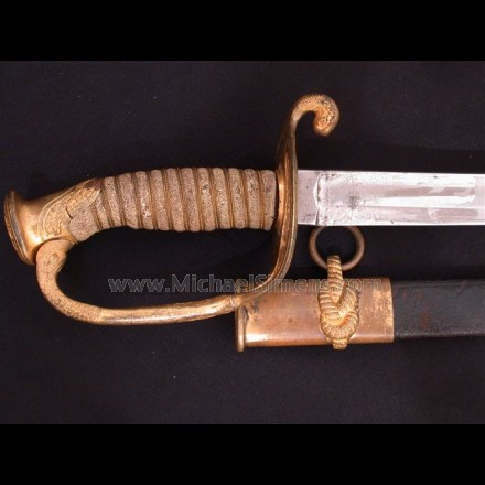 CIVIL WAR NAVAL OFFICERS SWORD, MEDAL-OF-HONOR