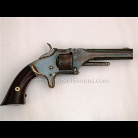 ANTIQUE SMITH & WESSON RELOVER, MODEL 1, SECOND ISSUE REVOLVER