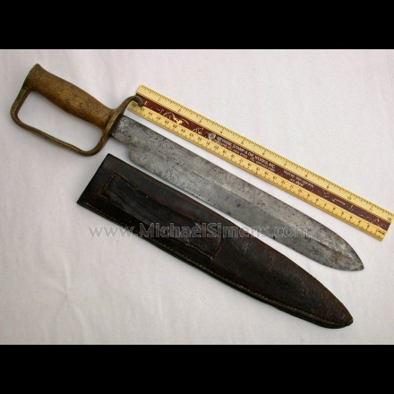 CONFEDERATE D-GUARD BOWIE KNIFE FOR SALE - HISTORICAL ARMS