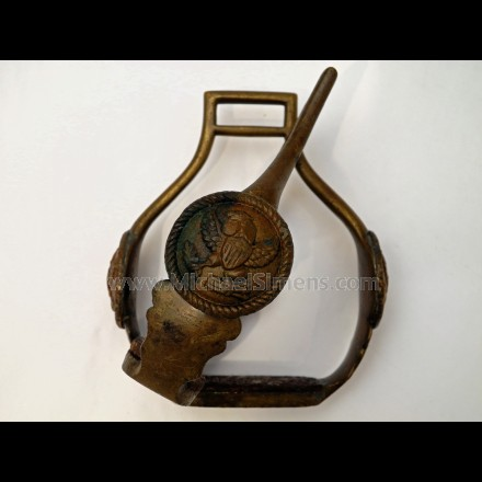 OFFICERS SADDLE STIRRUPS, WAR OF 1812 - CIVIL WAR