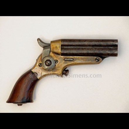 Starr four barrel pepperbox pistol, fifth model