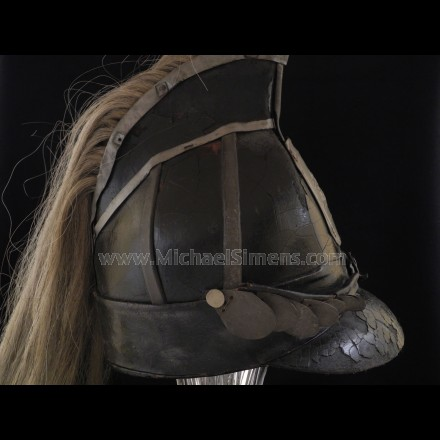 WAR OF 1812 DRAGOON HELMET - ANTIQUE MILITARY HEADGEAR DEALER