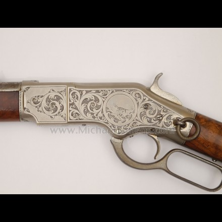 WINCHESTER CARBINE, 1866 FACTORY ENGRAVED