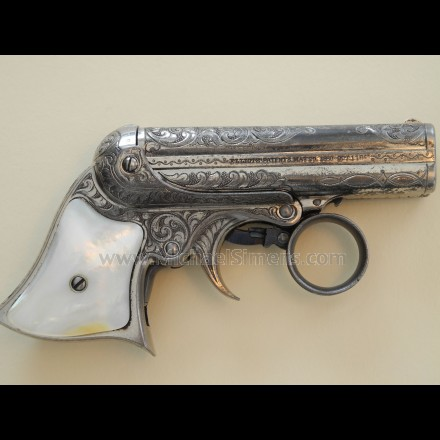 ANTIQUE GUN FOR SALE - REMINGTON ELLIOT DERRINGER