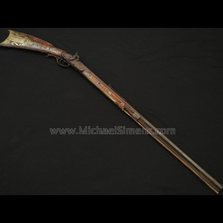 ANTIQUE KENTUCKY MOUNTAIN RIFLE