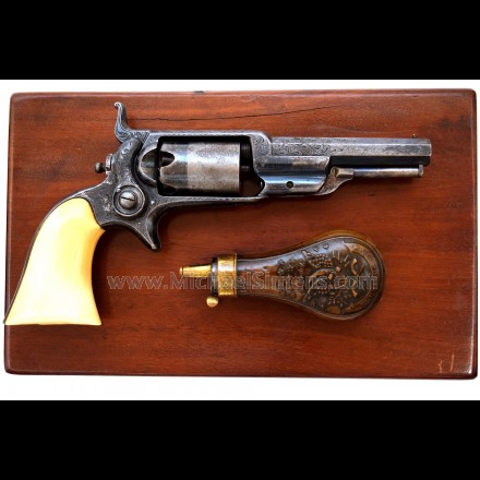 CASED, ENGRAVED COLT ROOT REVOLVER