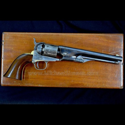 BEAUTIFUL, CASED COLT MODEL 1861 NAVY REVOLVER